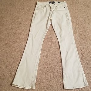 White Lucky Brand bootcut jeans